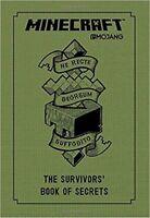 MINECRAFT The Survivors' Book Of Secrets NEW hardcover