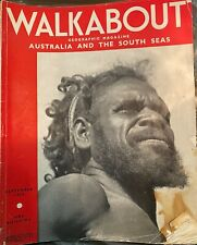 Vintage Walkabout Magazine collection 1936 - 1974