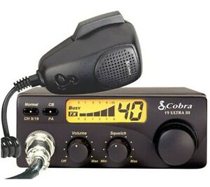 New! Cobra 19 ULTRA III CB Radio – Truck / Car