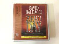 Zero Day by David Baldacci Audiobook 2011 Unabridged 12 CD Set Audio Book