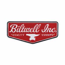 Biltwell Enamel Pin Shield Red / White