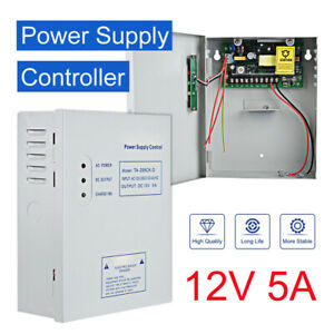 DC 12V Power Supply Control Controller for Door Entry Access Control System Lock