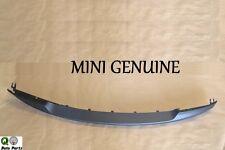 Mini Cooper S Conv GENUINE Front Bumper Cover Spoiler Genuine 51 11 7 130 315