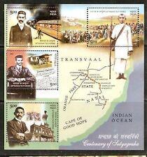 India 2007 Gandhi Satyagraha Cent. Phila-2299 M/s MNH
