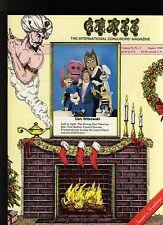 Dan Witkowski Genii Magicians Magazine Aug1988-contents in post