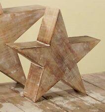 Bethany Lowe Americana - Whitewash Star, Medium - LK3718