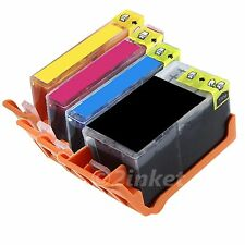 4 Pk New Compatible Ink Cartridge Replacement For HP 920XL B/C/M/Y Ink Pack
