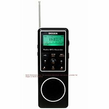 Degen DE1127 4GB MP3 Player and Voice Recorder with AM FM Shortwave Radio
