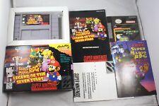 Super Mario Rpg Legend Seven Stars (Super Nintendo SNES) Complete  #2 Near Mint