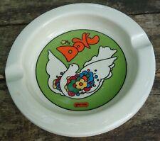 Vintage PETER MAX Genuine Iroquois China ASH TRAY ashtray Syracuse NY POTTERY