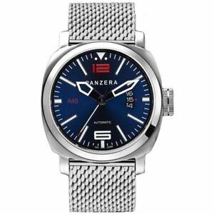 Panzera Men's Atlantic Blue Mesh MK2 45mm Watch A45-01BSM RRP £410.00