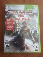 Dead Island -- Game of the Year Edition (Microsoft Xbox 360, 2012 Complete)