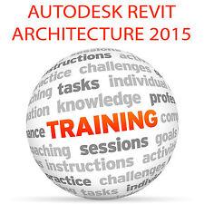 Autodesk REVIT ARCHITECTURE 2015 - Video Training Tutorial DVD