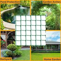 NEW PLASTIC MESH GARDEN NETTING FENCING PLANT BARRIER GREEN CHICKEN WIRE 5M ROLL