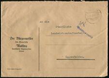 """Gangkofen Brief """"Gebühr bezahlt""""  #m678"""