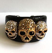 Modeschmuck-Armbänder im Armspange-Stil aus Kristall