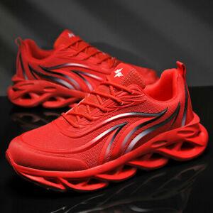 Herren Sportschuhe Schhnürer Sneakers Turnschuhe Leichte Beiläufig Laufschuhe