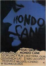 MONDO CANE Movie POSTER 11x17 Polish NARRATED BY Stefano Sibaldi