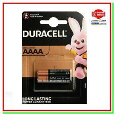 2 Batterie Pile DURACELL AAAA MX2500 LR8D425 MN2500 E96 LR61 4061 GP25A AM6