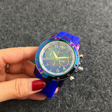 New Women's Dress TechnoMarine Watch Bear Silicon Rubber Wristwatch