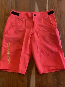 Sombrio V'al Shorts Neon Lava Small Worn Once! Get Them At A Better Price! Women