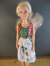 1980's Hasbro Rock'n Curl Jem of the Holograms Original Doll 4002 #155