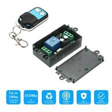 433 Mhz DC 12V 1CH Modulo ricevitore interruttore di controllo remoto O2G0