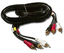 Recoton TSVG310 Stereo Audio/Video RCA Male Cable (6 feet) 1.8 mm