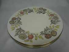 Wedgwood Lichfield  #W4156 - Set of 4 Dinner Plates
