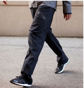 Lululemon Seawall Track Pant II Grey Pinstripe Men's Size M