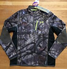 Under Armour Mens Infrared Scent Control 1/4 Zip Size 2XL Hunting 1259179-905