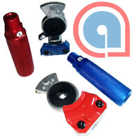 Red GROTE 81-0125  ANODIZED GLADHANDLE SET Blue