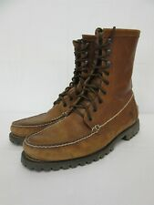 Timberland men's Pendleton tan leather high tan leather boots - UK size 11.5