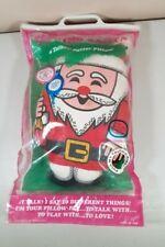 New listing 1968 Mattel Talking Pillow Santa Clause Christmas Gift Original Packaging