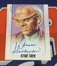 2019 Star Trek Inflexions Bridge Crew Armin Shimerman Autograph