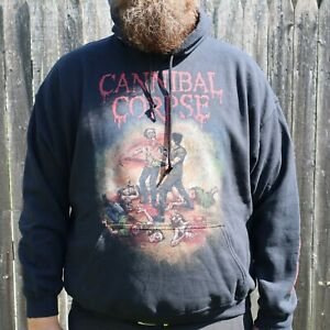 Canibal Corpse Pullover Hoodie Men's Size 2XL Tune Up The Chainsaw