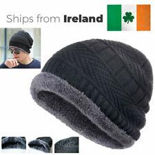Outdoor Warm Knitted Black Hat - Skullies, Beanies Men & Women - Ready to Ship!
