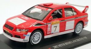 Saico 1/32 Scale Model Car TY3315 - 2002 Mitsubishi Lancer Evo II - Red
