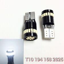 License Plate Light T10 168 194 2825 24 LED White Canbus Bulb K1 For Subaru H