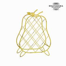 Botellero de metal pera by Bravissima Kitchen