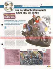 MÜNCH Mammut 2000 Mammouth Joe Bar Team Fiche Moto #005517