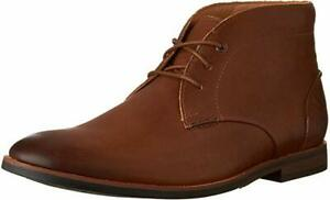 Mens Clarks Broyd Mid Tan Leather Smart Ankle Boots Uk Size 7 1/2
