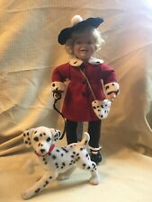 Vintage Ashton-Drake Galleries Porcelain Doll Dottie & Spots Ltd Ed Mib w/ Coa