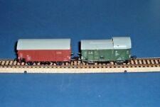 Piko  HO.   2  x  Vintage  Wagons  .   ( T84 )