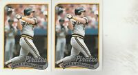 FREE SHIPPING-MINT-1989 (PIRATES) Topps #218 Mike LaValliere-2 CARDS