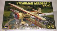Revell Stearman Aerobatic 1:48 scale airplane model kit new 5269