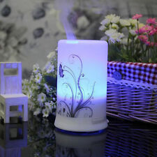 LED Ultrasonic Essential Oil Air Humidifier Aroma Therapy Diffuser Atomizer US
