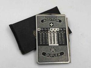 ADDIATOR DUPLEX ADDITION SUBTRACTION MANUAL CALCULATOR