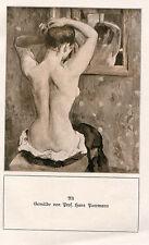 """Bild aus altem Buch """"Akt""""   (OR1)"""