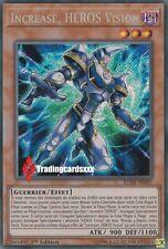 ♦Yu-Gi-Oh!♦ Increase, HEROS Vision (HERO) : BLHR-FR007 -VF/Secret Rare-